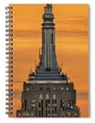 Empire State Building Esb Broadcasting Nyc Spiral Notebook