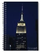 Empire State Building New York City Spiral Notebook