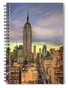 Empire State Of Mind Spiral Notebook