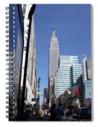 Empire State Of Mind In The Late Springtime Spiral Notebook
