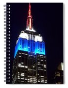 Empire State  Spiral Notebook