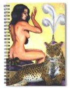 Empress And Her Cat Spiral Notebook