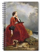 Empress Eugenie Spiral Notebook