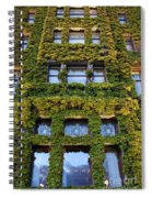 Empress Hotel Windows Spiral Notebook