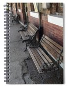 Empty Benches Spiral Notebook