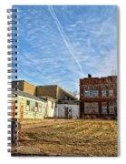 Empty Halls Spiral Notebook