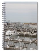 Empty Harbor Spiral Notebook