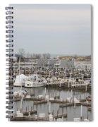 Empty Harbor Spiral Notebook