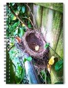 Empty Nest Spiral Notebook