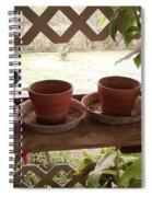 Empty Pots Spiral Notebook