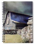 Empyrean Estate Stone Wall Spiral Notebook