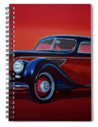 Emw Bmw 1951 Painting Spiral Notebook