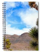 En Route To Grand Canyon West Rim Spiral Notebook
