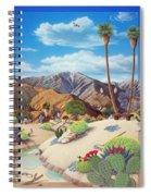 Enchanted Desert Spiral Notebook