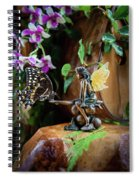 Enchanted Encounters Spiral Notebook