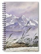Enchanted Mountain Spiral Notebook