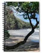 Enchanted Rocks Koki Beach Haneoo Hana Maui Hawaii Spiral Notebook