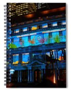 Enchanted Sydney - Coral By Kaye Menner Spiral Notebook