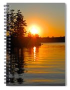 Enchanting Moment Spiral Notebook
