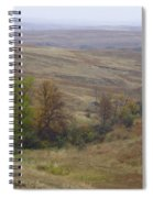Enchantment Of The September Grasslands Spiral Notebook