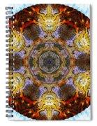 10481 End Of Days 2 Kaleidoscope Spiral Notebook