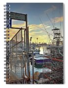 End Of Fishing Day Spiral Notebook