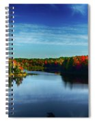 End Of The Day At The Lake Spiral Notebook
