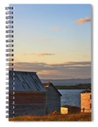 End Of The Day In Trinity Bay, Newfoundland Spiral Notebook