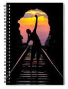 End Of The Line Spiral Notebook