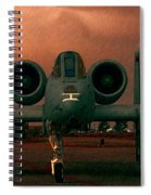 End Of The Mission Spiral Notebook