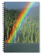 End Of The Rainbow Spiral Notebook