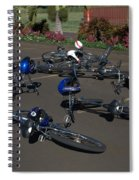 End Of The Ride Spiral Notebook