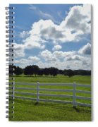 Endless Sky At The Farm Spiral Notebook