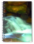 Endless Water Spiral Notebook