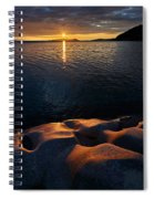 Enduring Autumn Spiral Notebook