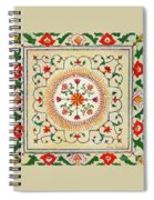 Enduring Love Floral Painting Spiral Notebook