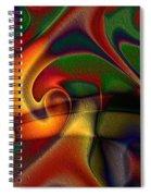 Energetic Spiral Notebook