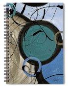 Energy Flow II Spiral Notebook
