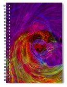 Energy Wave Spiral Notebook