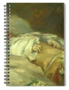 Enfant Mort Detail 1881 Spiral Notebook