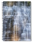 Lower Falls Cascade #1 Spiral Notebook