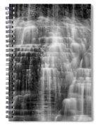 Lower Falls Cascade #2 Spiral Notebook