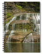 Enfield Falls Tompkins County New York Spiral Notebook