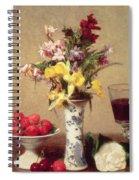 Engagement Bouquet Spiral Notebook