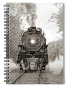 Engine 261 Spiral Notebook