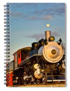 Engine 509 At Crossville Tennessee Puffing Spiral Notebook