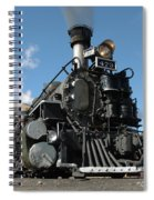 Engine Number 473 Spiral Notebook