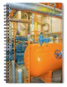 Engine Room Spiral Notebook