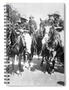England: Cowboys, C1900 Spiral Notebook