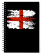 England Gift Country Flag Patriotic Travel Shirt Europe Light Spiral Notebook